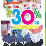 Julio Regalado 30% de descuento en ropa interior para dama