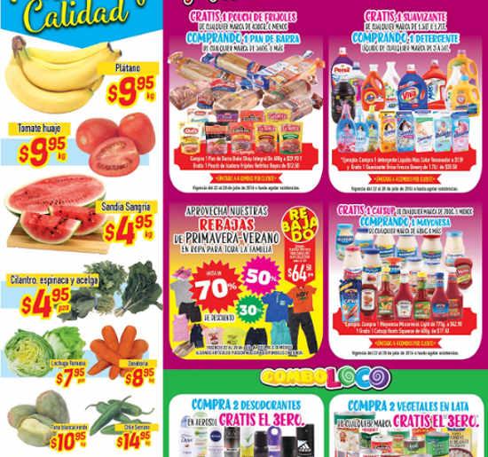 Frutas y Verduras en HEB