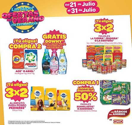 Promociones de Verano en Oxxo Julio 2016