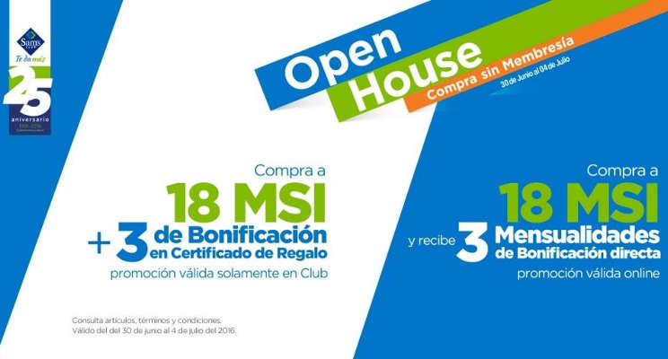 Sam's Club Open House Envíos Gratis