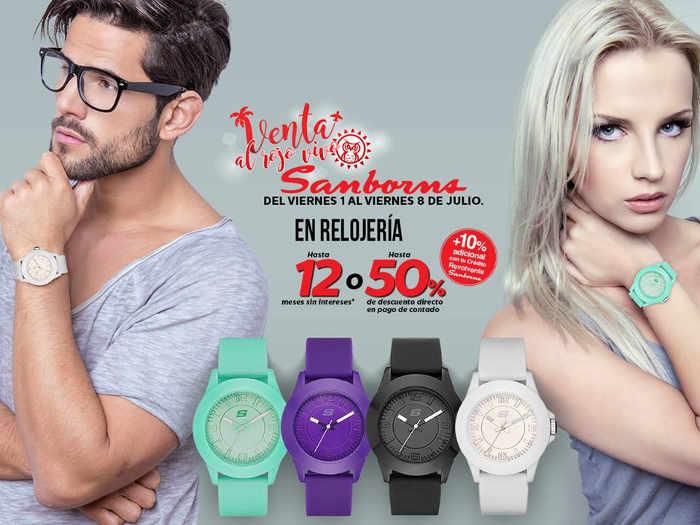 Venta Especial al Rojo Vivo Sanborns ofertas en electrónica, bolsas, relojes