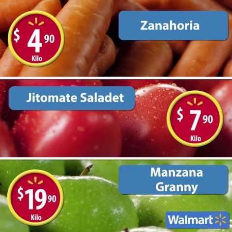 Martes de Frescura Walmart Julio 12