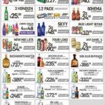 Folleto 7 Eleven ofertas en cervezas, vinos y licores