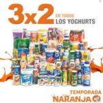 Temporada Naranja en La Comer 3x2 en todos los yoghurts