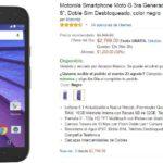Amazon Smartphone Moto G 3ra Generacion, Doble Sim