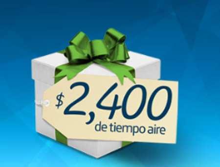 Promo Movistar Prepago Doble: $2,400 de Tiempo Aire