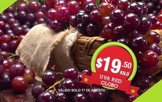 Frutas y verduras Comercial Mexicana Agosto 2016