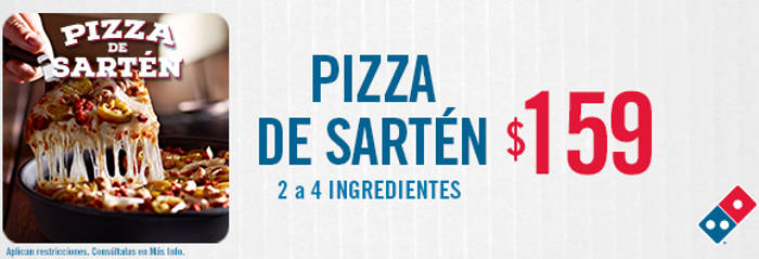 Domino's Pizza de Sartén