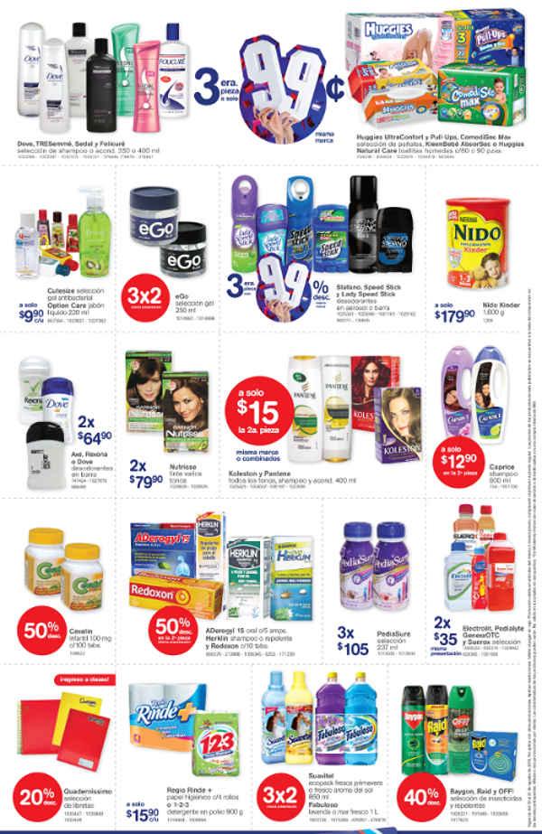 Farmacias Benavides promociones de fin de semana