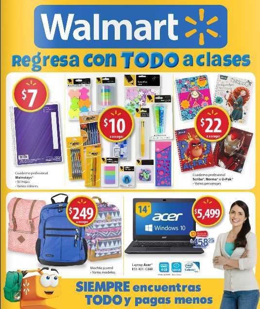 Folleto Walmart Regreso a Clases
