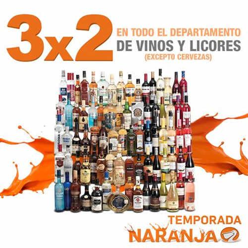 La Comer 3x2 en Vinos y Licores del 5 al 8 de Agosto