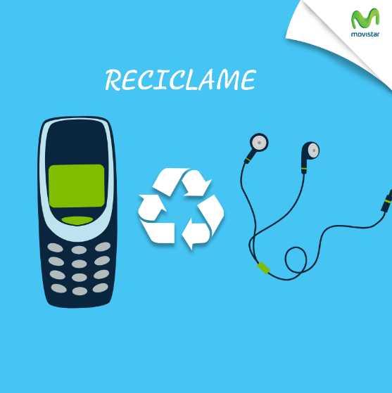 Movistar cambia tu celular viejo por audífonos nuevos