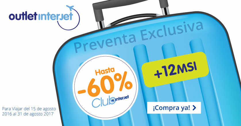 Outlet Club Interjet 2016