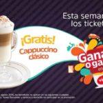 Promoción Vips Ganas o Ganas Cappuccino Gratis