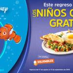 Promoción Vips Regreso a Clases los Niños Comen Gratis
