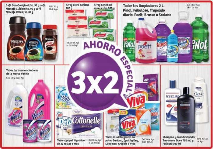 b19ee62a7c Soriana  3x2 en papel higiénico