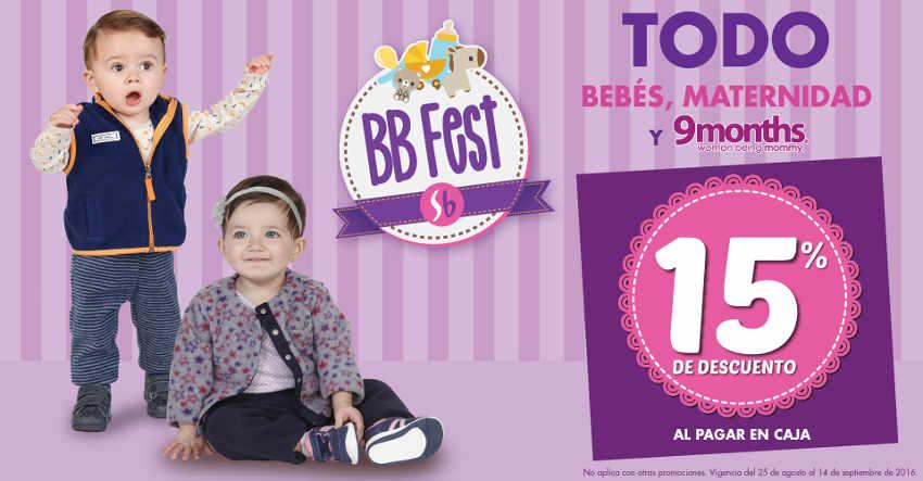 Suburbia BB Fest ofertas en ropa de bebés, maternidad y 9months