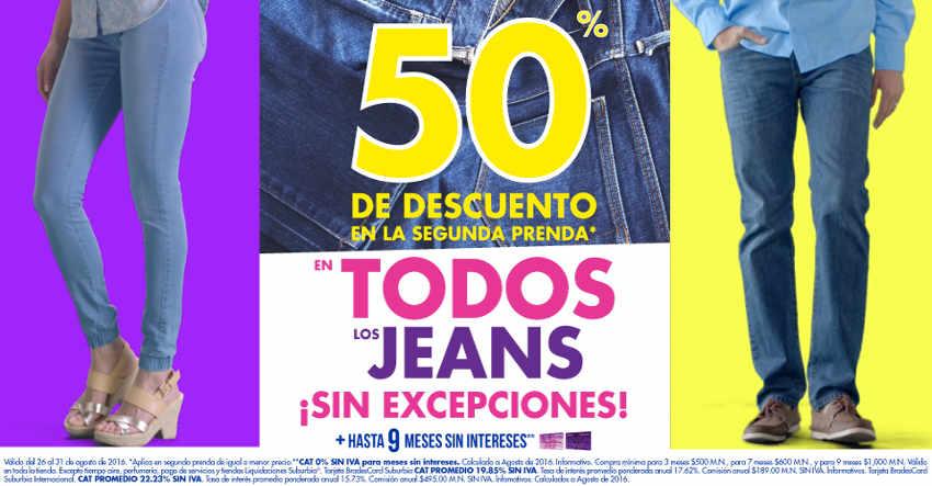 Suburbia descuentos en Jeans