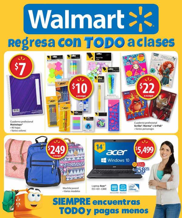 Folleto Walmart Agosto 2016