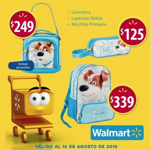 Walmart promociones de regreso a clases al 16 de agosto