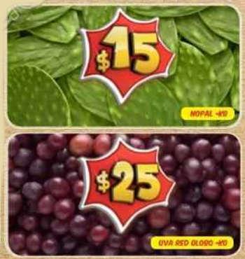 Bodega Aurrera frutas y verduras del 1 al 11 de septiembre
