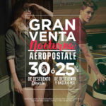 Gran Venta Nocturna Aéropostale Septiembre Octubre 2016