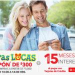Best Buy Horas Locas Santander Cupón de $300 + 15 MSI