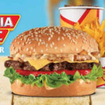 Carl's Jr Combo California Classic Cheeseburger por $72