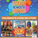 Folleto Chedraui 3×2 en productos Festival de Nuestras Marcas