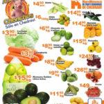 Frutas y verduras Chedraui Septiembre