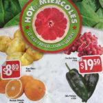 Comercial Mexicana miércoles de frutas y verduras septiembre
