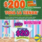 Comercial Mexicana y MEGA $200 en puntos PAYBACK por cada $1,000 de compra
