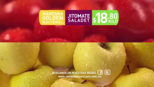 Comercial Mexicana miércoles de frutas y verduras 21 de septiembre