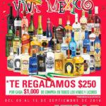 Comercial Mexicana: $250 de descuento en vinos y licores