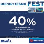 Deporteísmo Fest Martí del 28 y 29 de septiembre