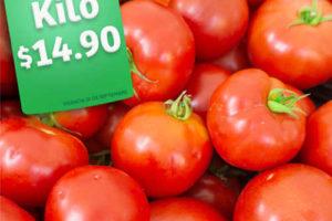 Frutas y Verduras Soriana Mercado del 27 al 29 de Septiembre