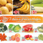 HEB folleto de frutas y verduras del 27 al 29 de septiembre