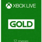 Tarjeta Xbox Live Gold 12 Meses en Liverpool