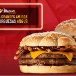 Martes de McDonald's 2 hamburguesas angus por $99