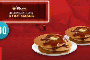Martes de McDonald's 6 HotCakes por $30