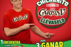 Promoción Chicharito Carlos V Gana Viajes, Chocolaes, Playeras y Balones de fútbol