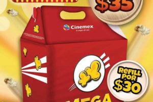 Promoción Cinemex Mega Palomitas