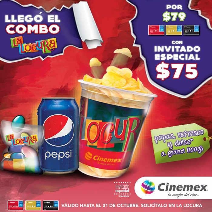 Promociones Cinemex Invitado Especial Septiembre Octubre 2016