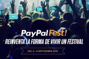 Promociones PayPal Fest 2016