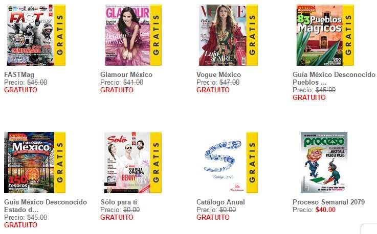 Revistas digitales gratis en sanborns septiembre 2016 for Sanborns de los azulejos tiene estacionamiento