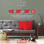 Sears descuentos en muebles, hogar, línea blanca, electrónica y deportes