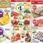 Frutas y verduras Soriana Septiembre