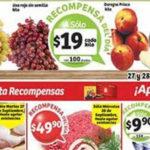 Soriana promociones tarjeta recompensas del 27 al 29 de septiembre
