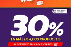Netshoes 30% de Descuento Sports Weekend