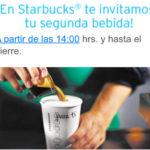 2×1 en Starbucks al pagar con tarjetas Banamex Mastercard